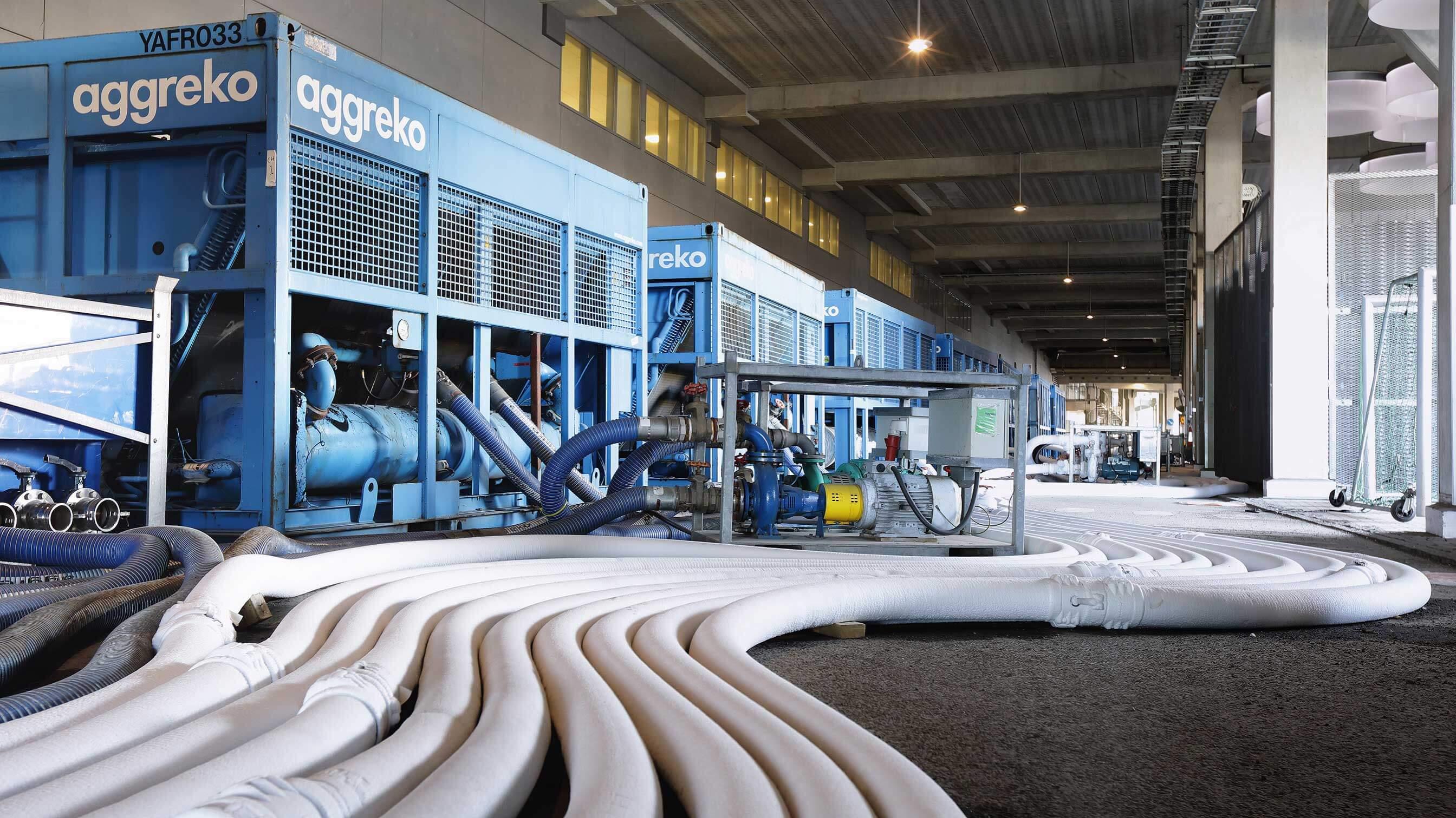 Industrial Cooling Equipment Hire Aggreko