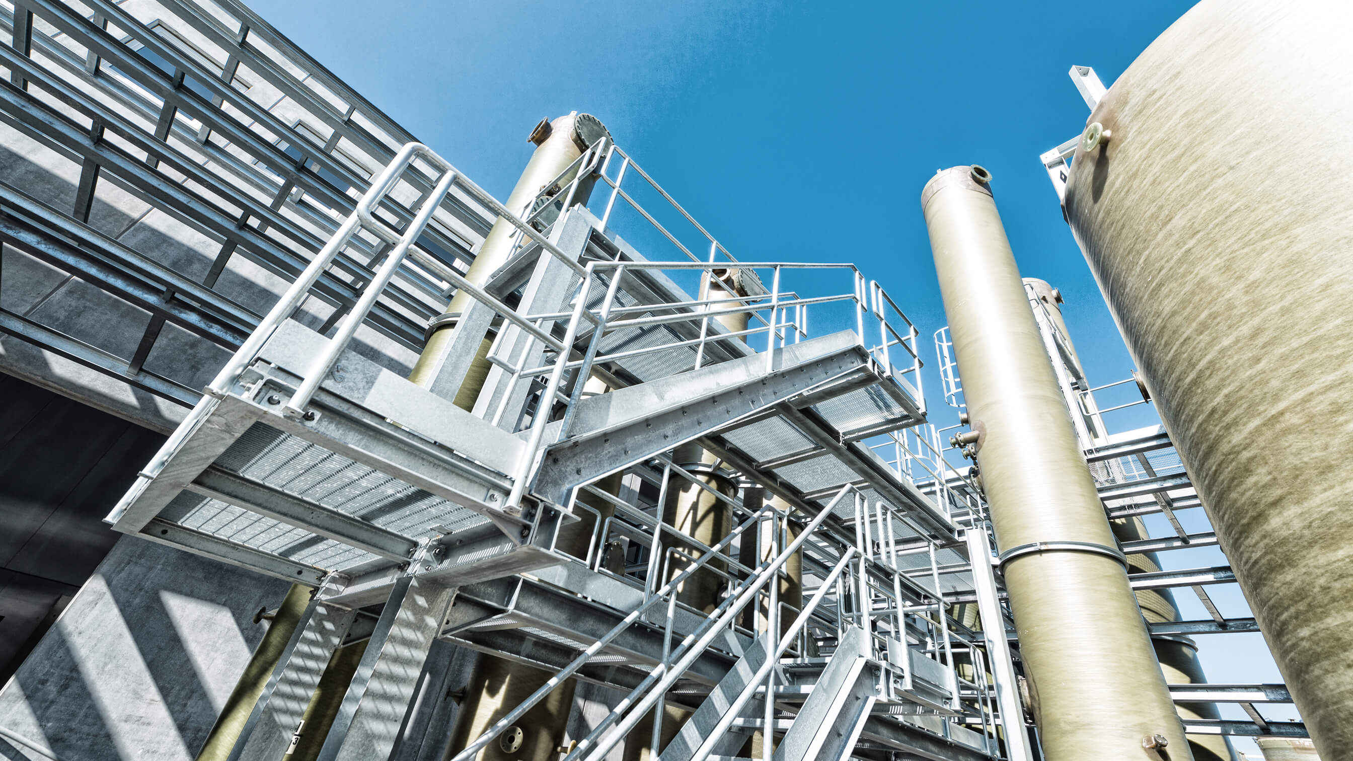 Steady temperature at chemical processing plant