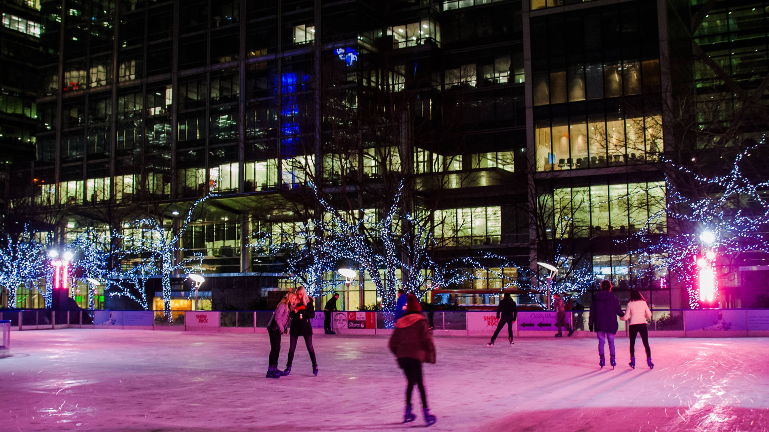 Chillers for London ice rink