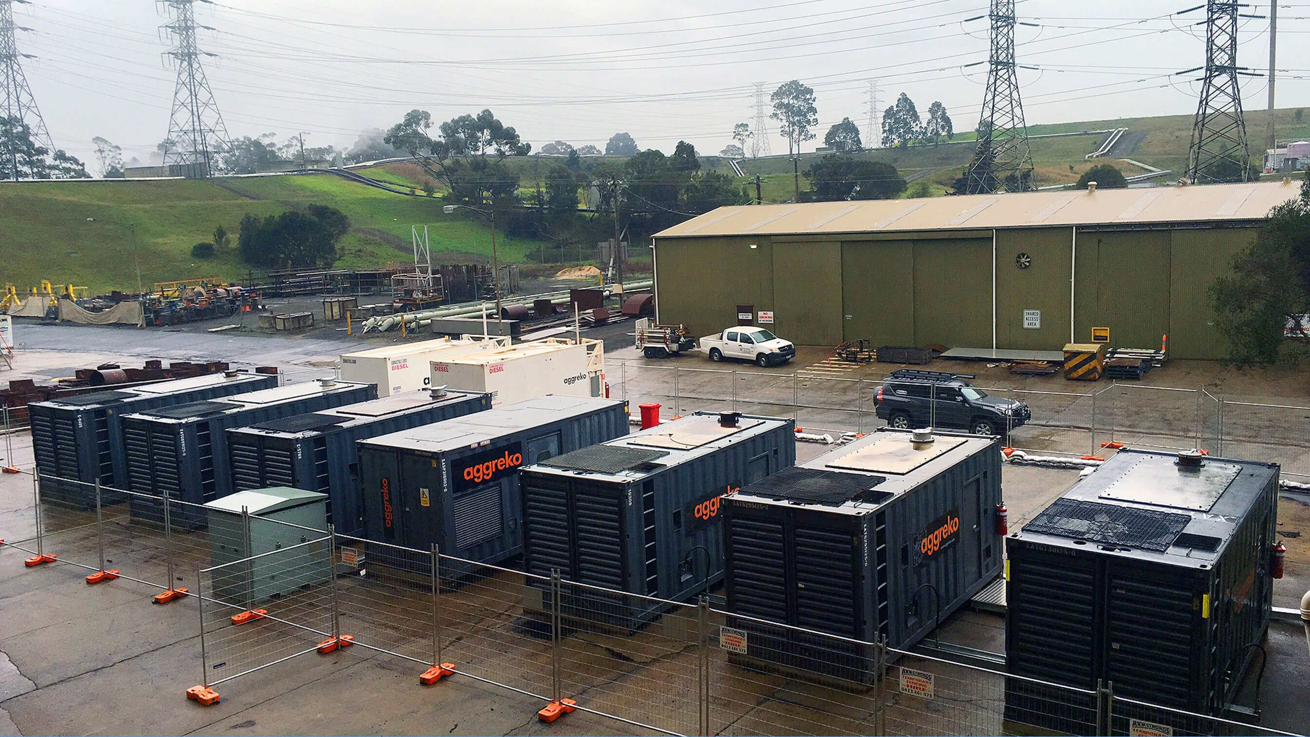 Standby power for a major Australian power station