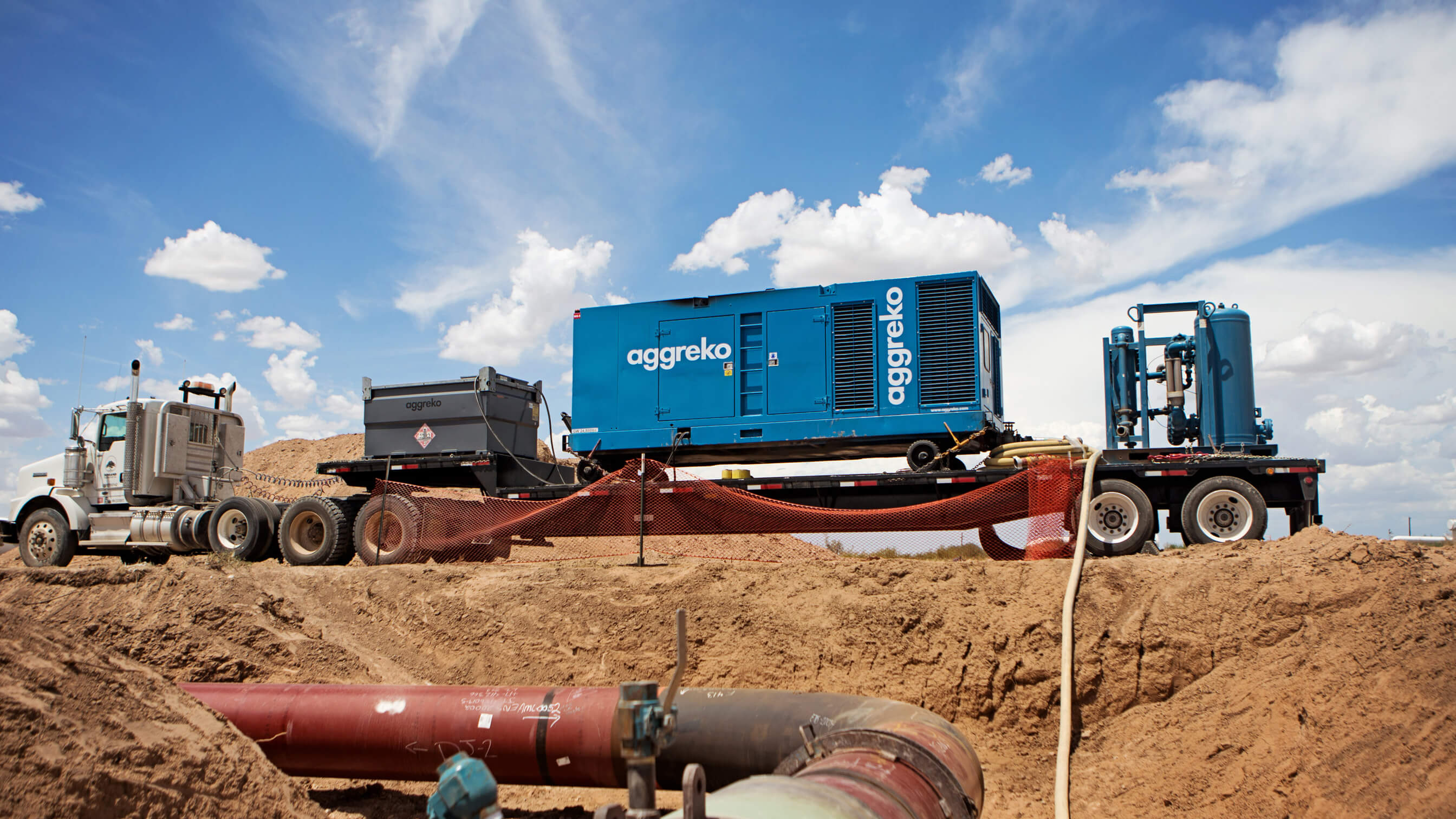 Pipeline Hydrotest services