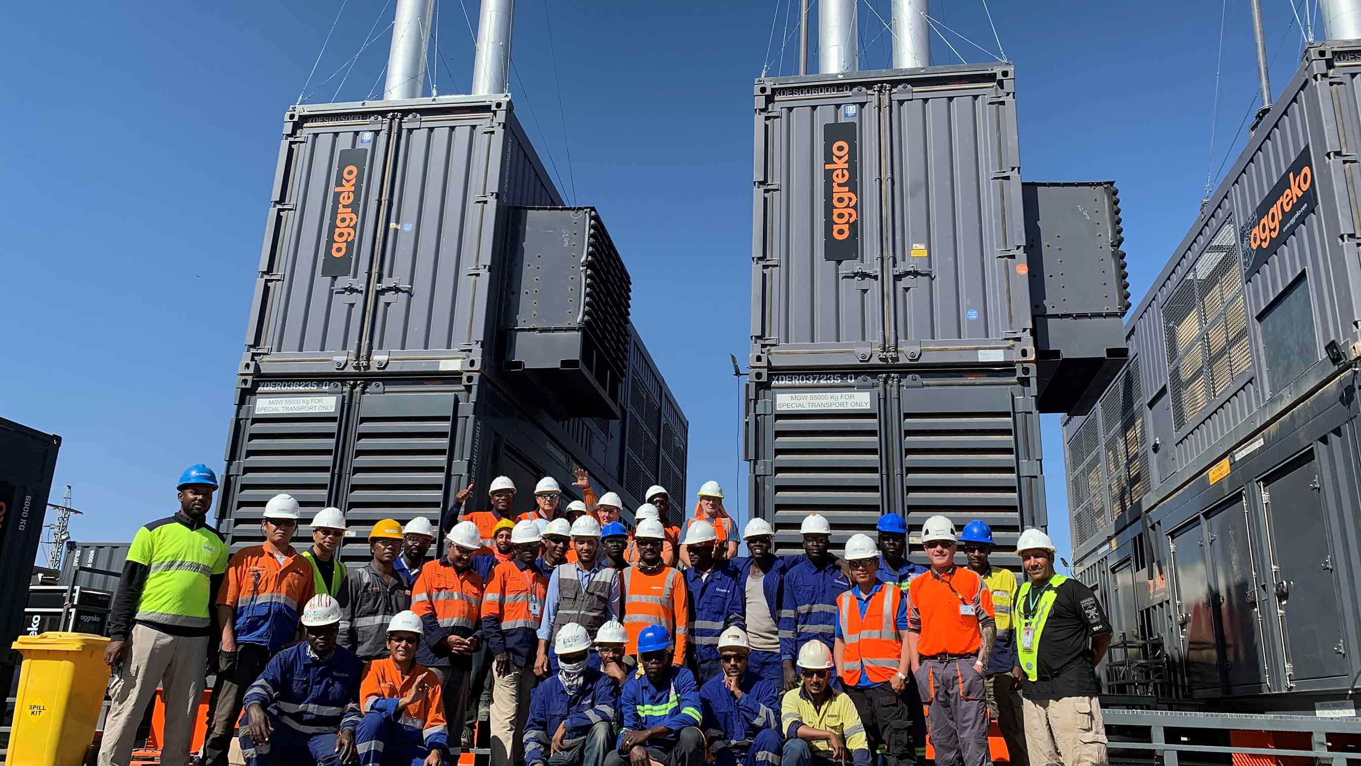 New HFO power plant for off-grid gold mine gives peace of mind