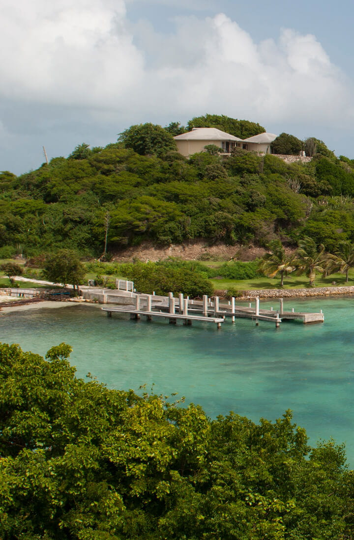 antigua bay sea coast