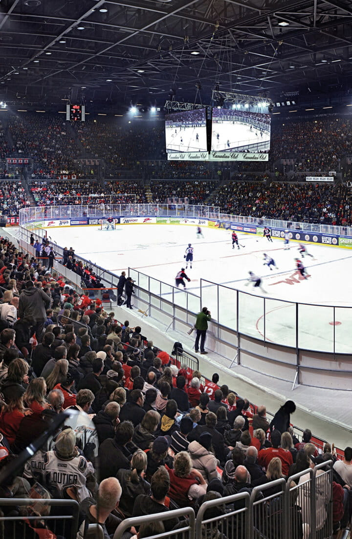 Match de hockey sur glace en direct