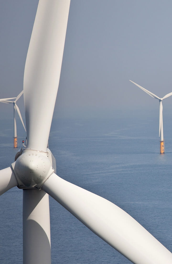 offshore wind farm sea