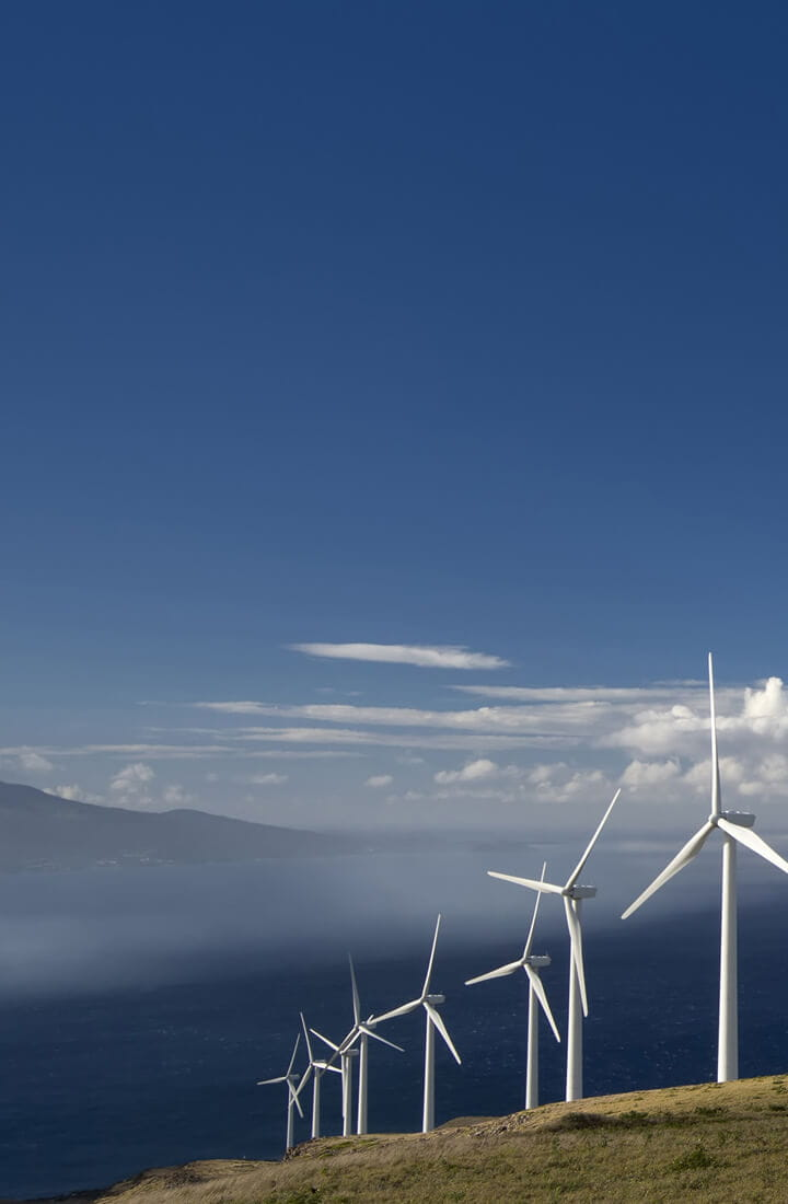 Maui Hawaii wind farm