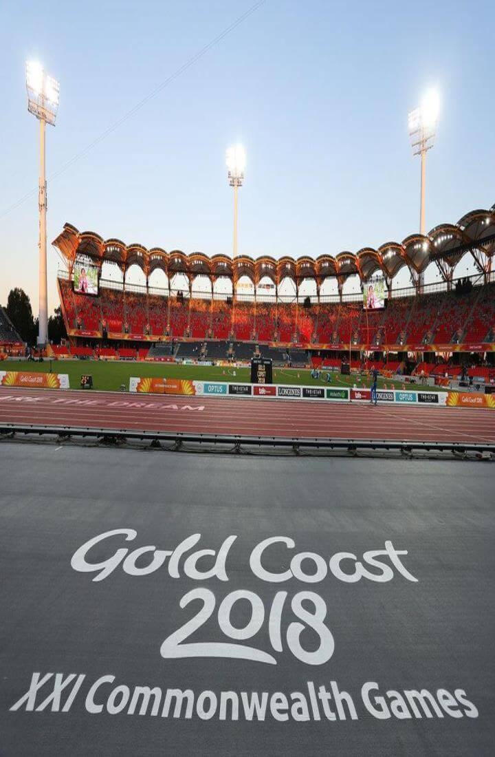 The Commonwealth Games at the Gold Coast 2018