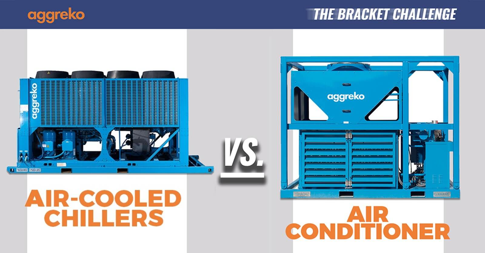 Air-cooled chillers vs Air conditioners