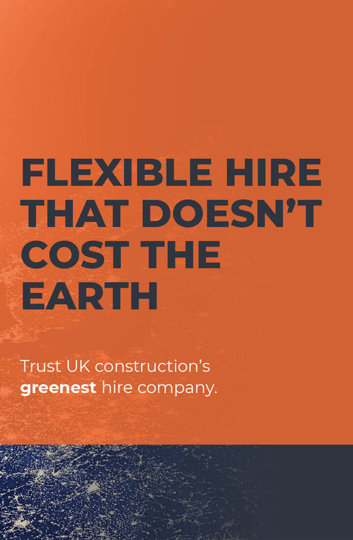 Flexible hire equipment for construction