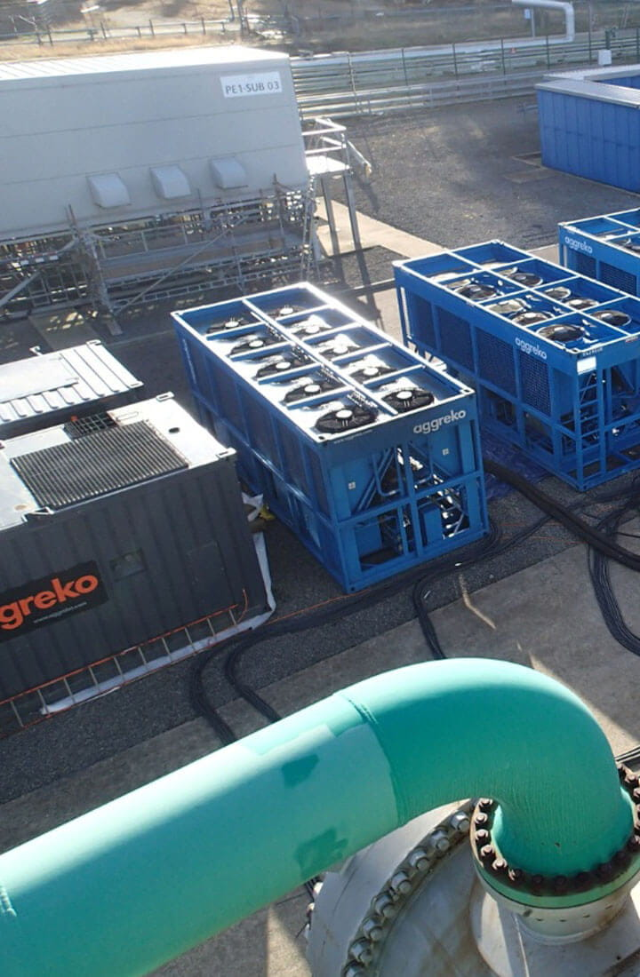 Critical cooling for petrochemical plant