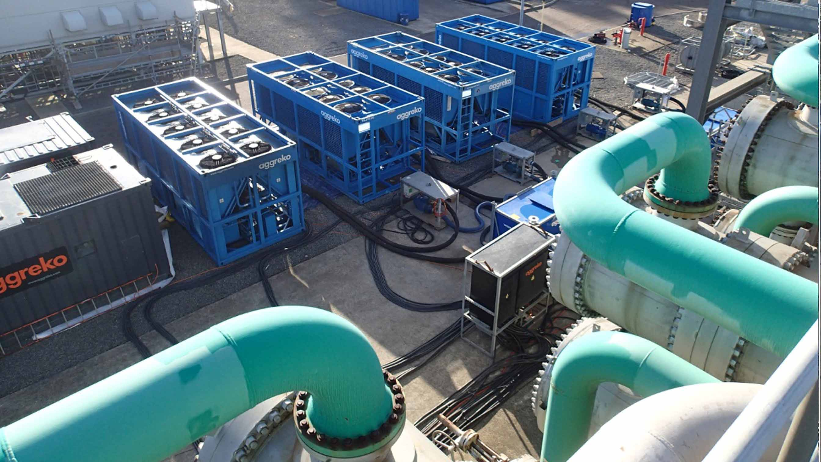 Cooling package for petrochemical and refinining customer to maintain production