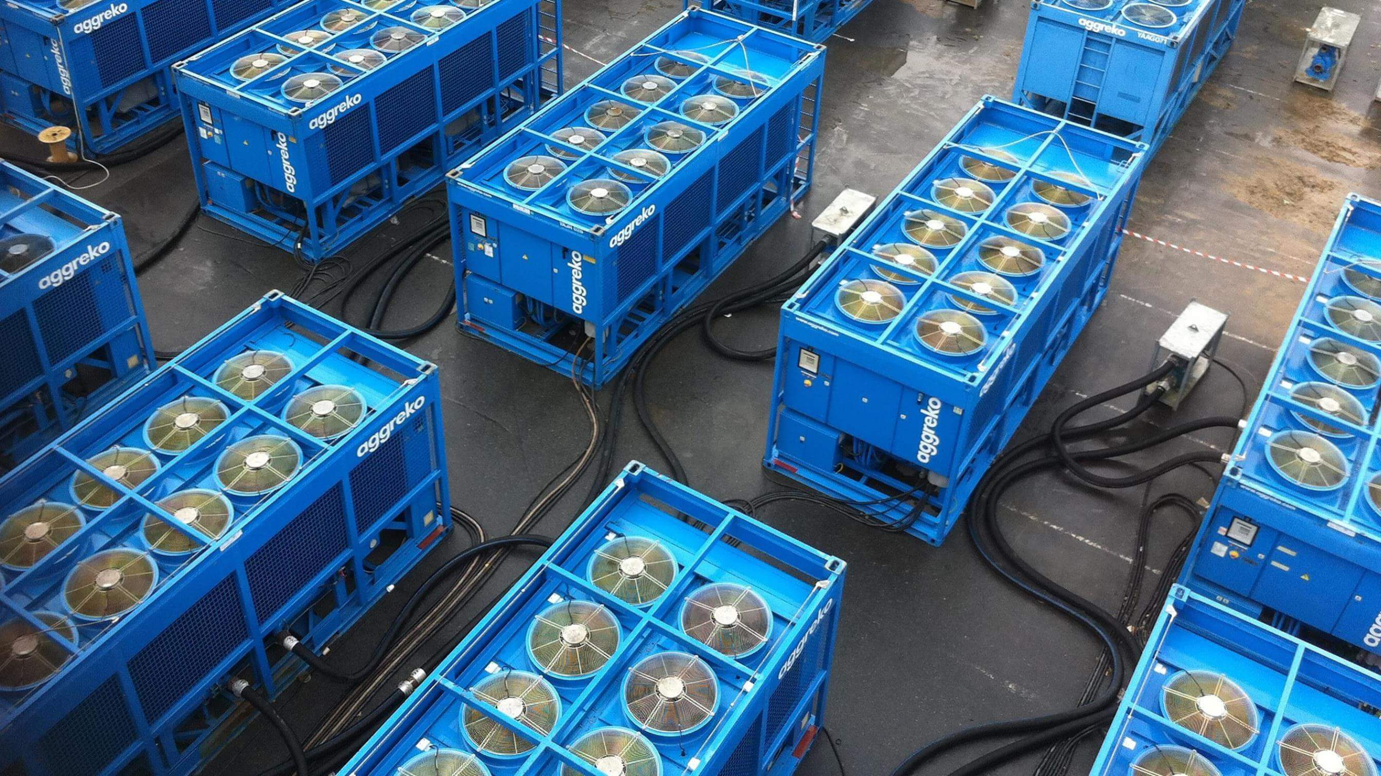 Cooling Systems Rental Cooling Aggreko