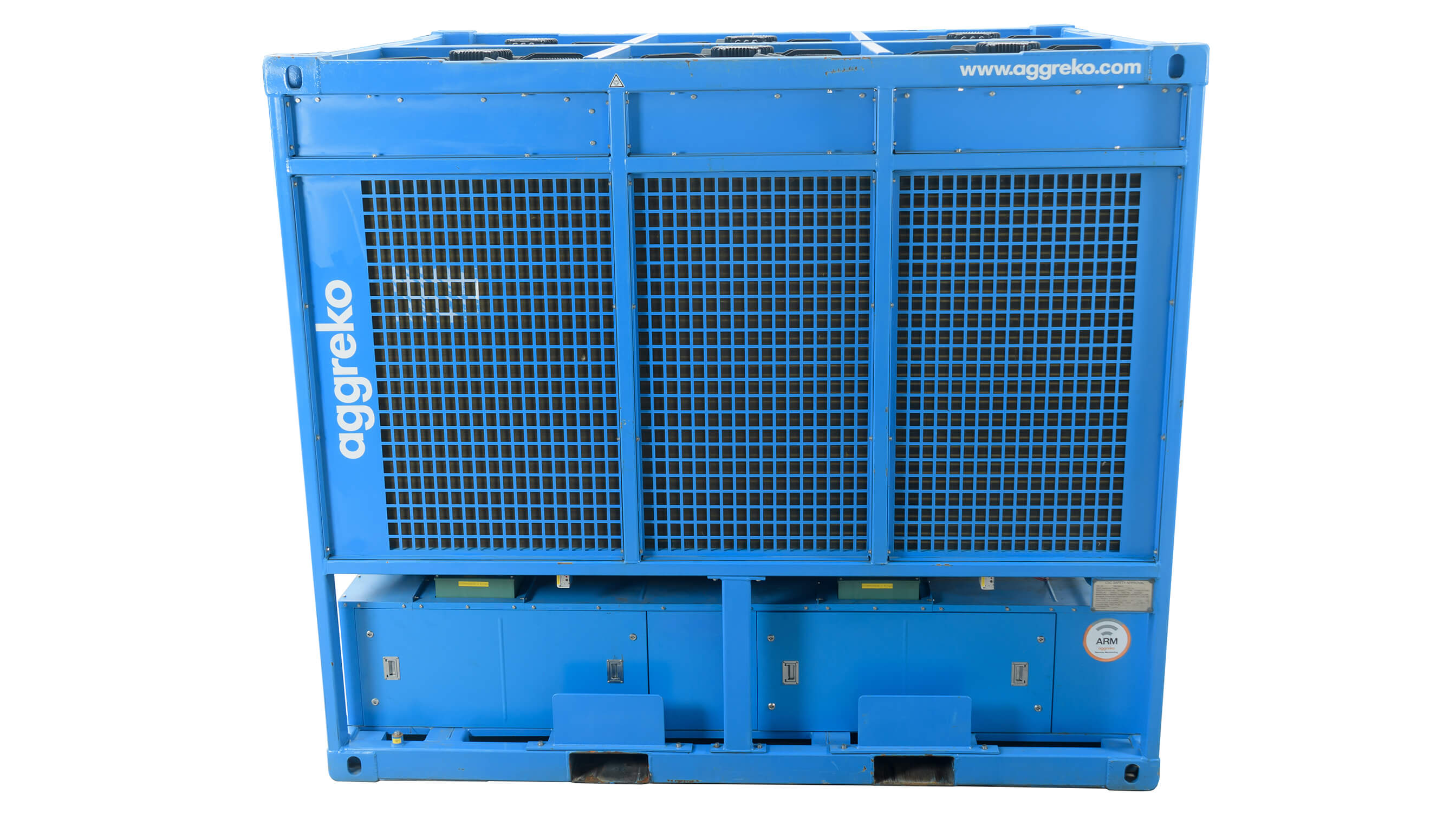 400 kW Chiller Front