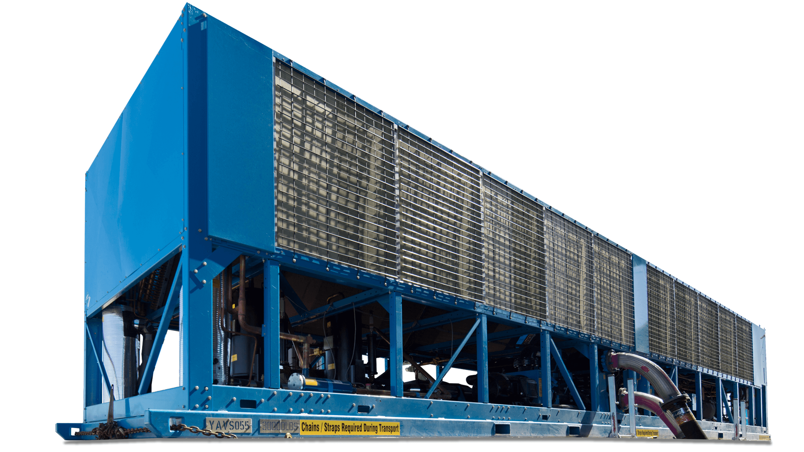 410 Ton Chiller Rentals Air Cooled And Water Cooled