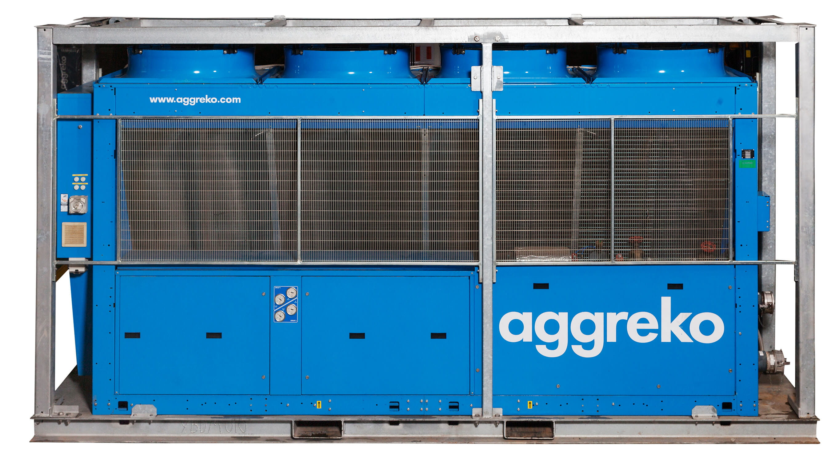 Aggreko Chiller Equipment
