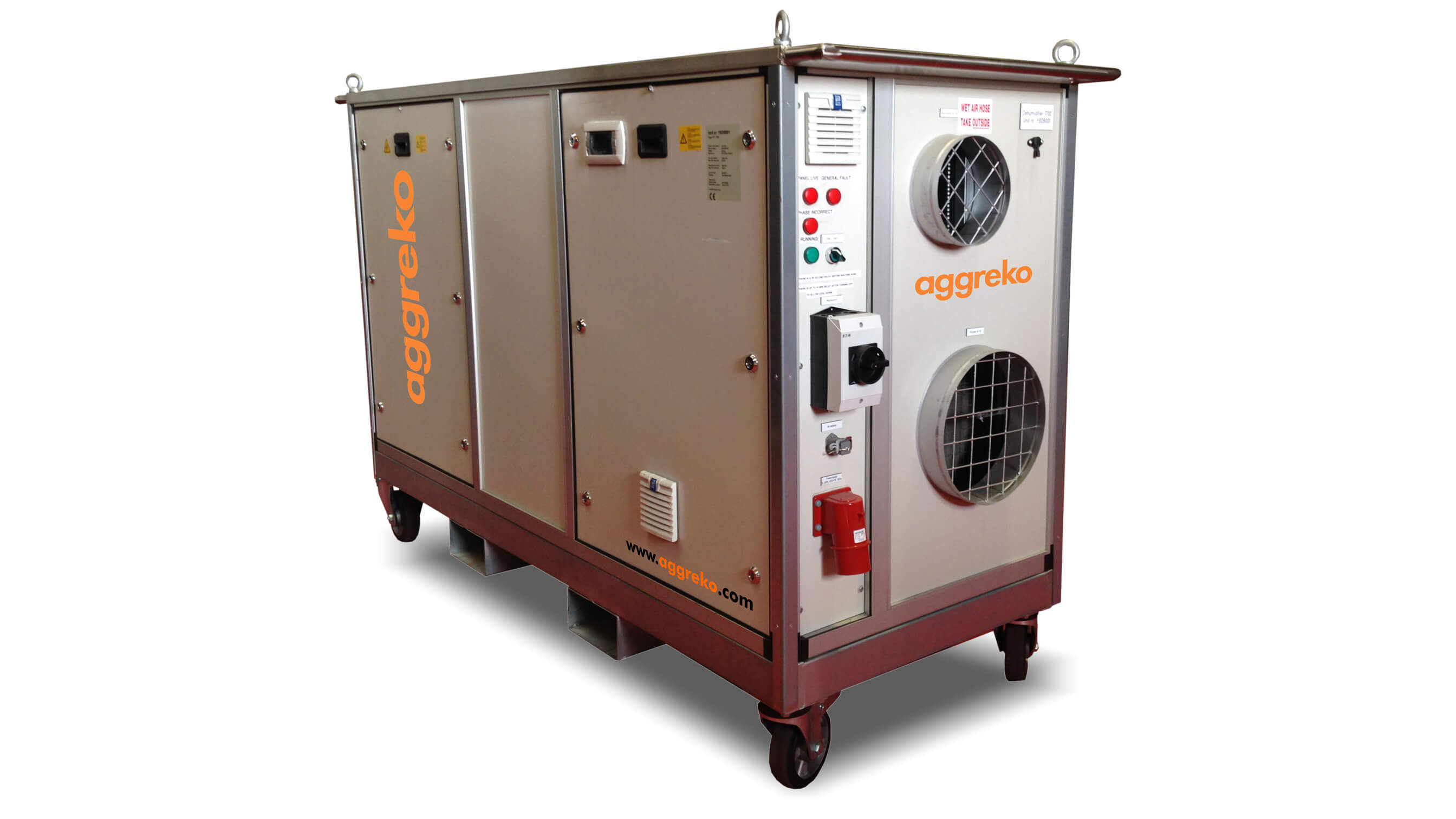 KT 2000 industrial dehumidifier hire