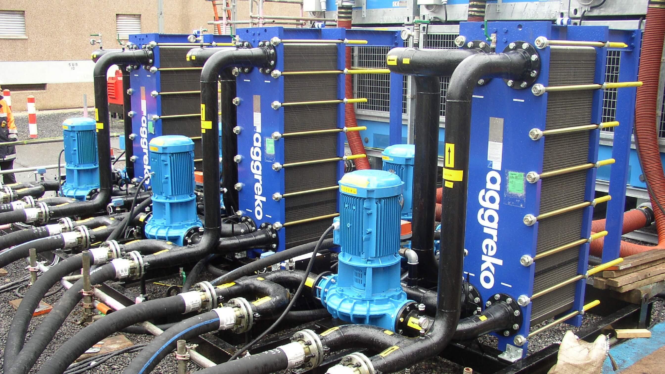 Heat Exchanger Hire | Heat Exchanger Rental | Aggreko