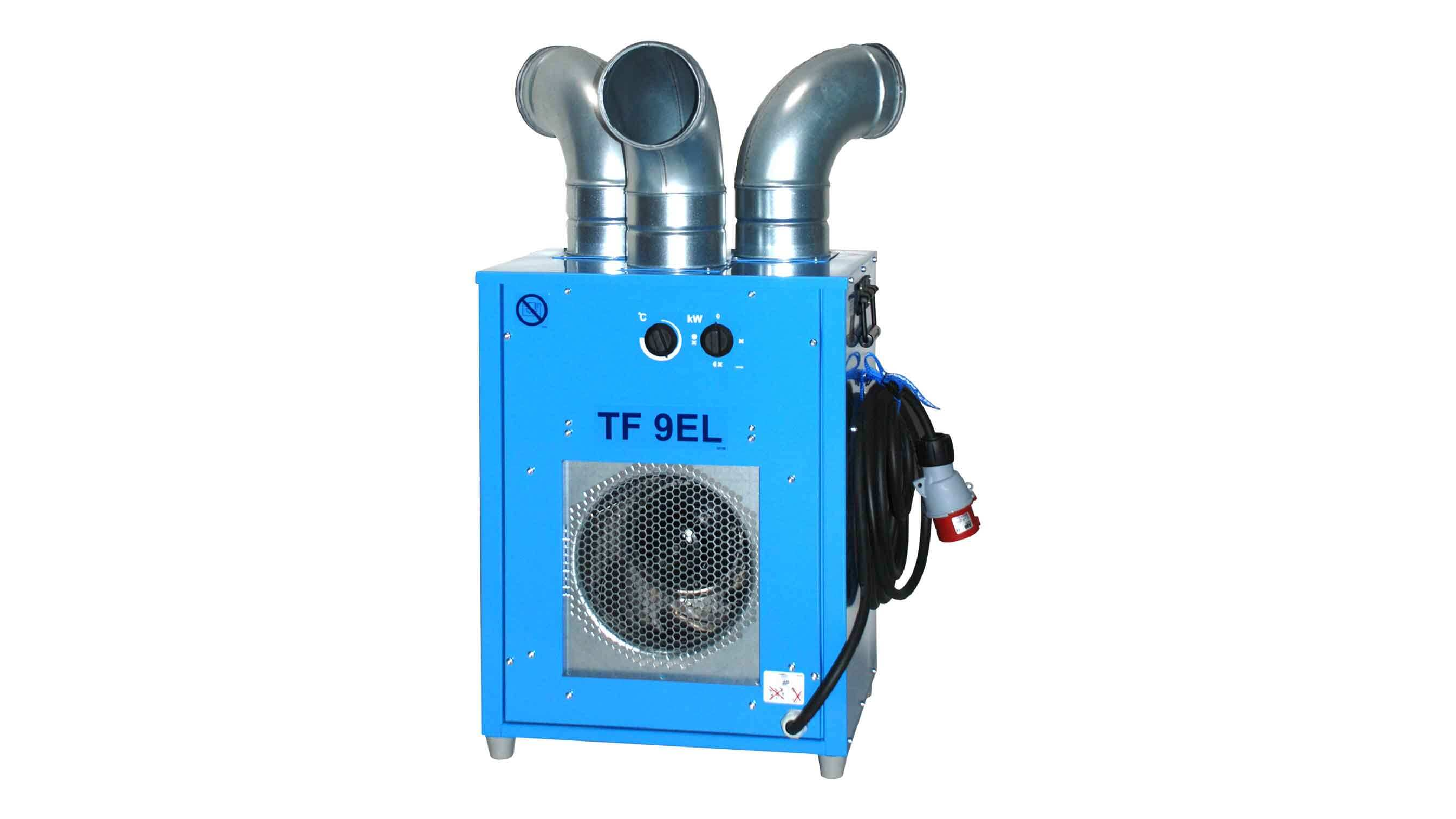 9 Kw Industrial Electric Heater Hire I Heater Hire