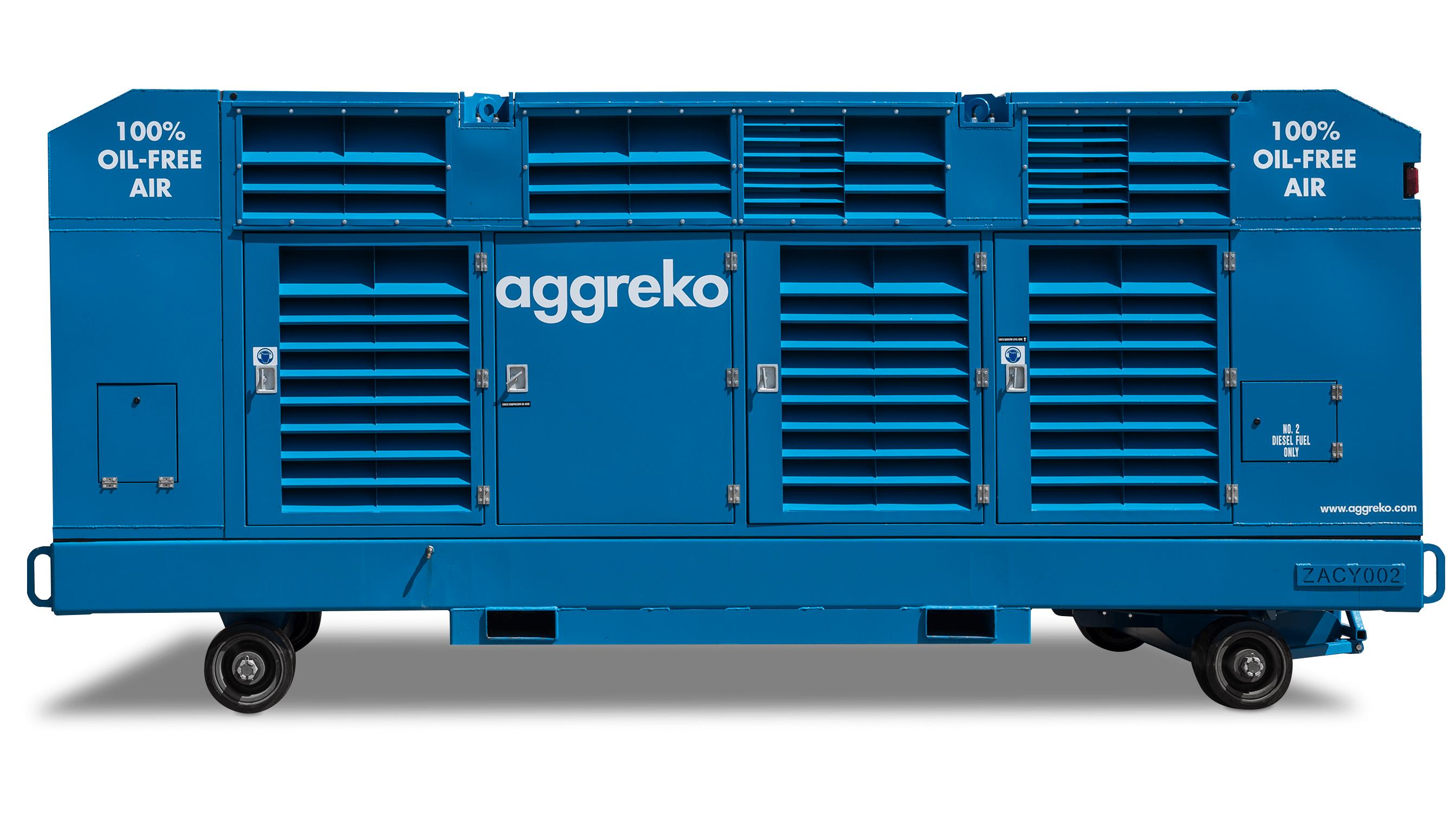 1600 Cfm Diesel Compressor Rentals Oil Free Air