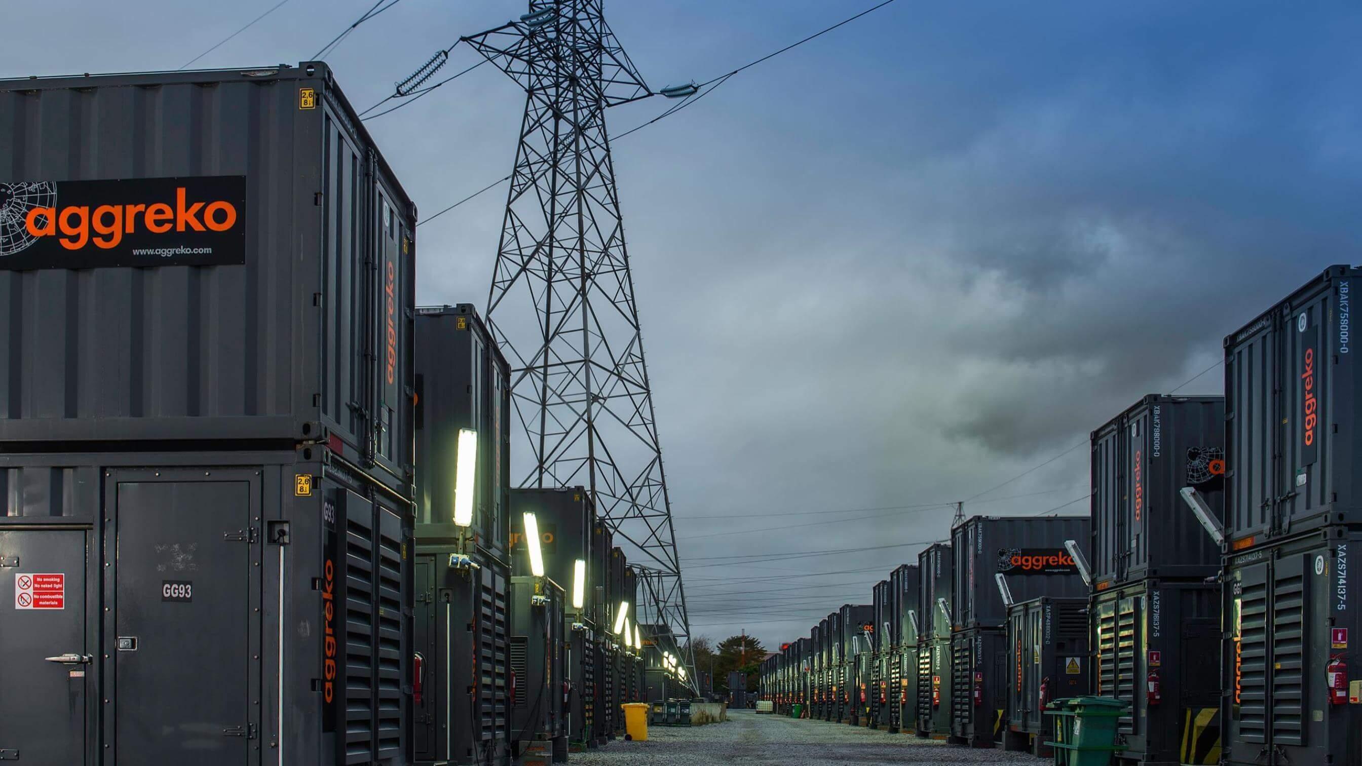 Power Generation Transformers Amp Gas Generators Aggreko