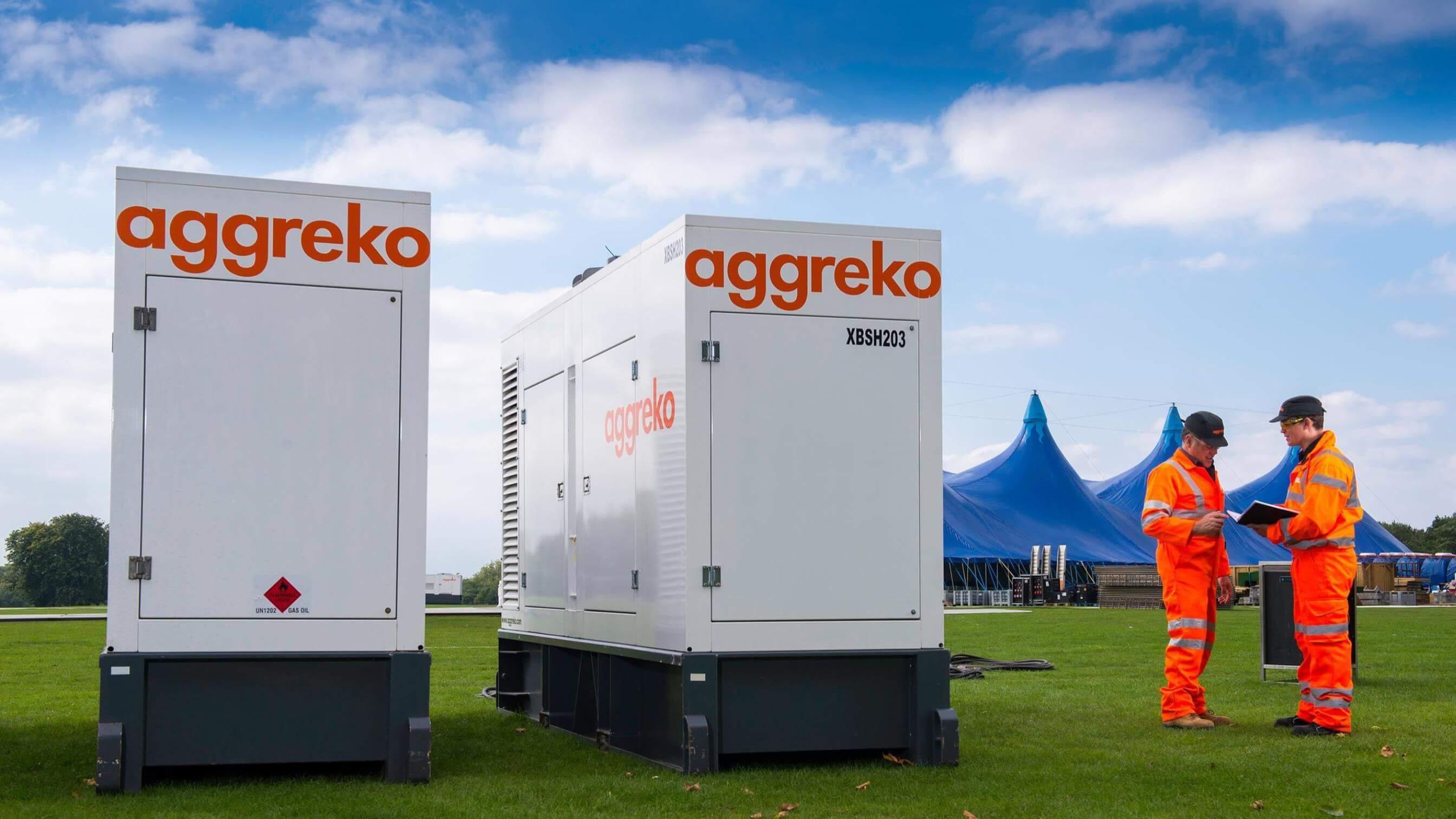 Generator Rental Diesel Gas Portable Generators Aggreko