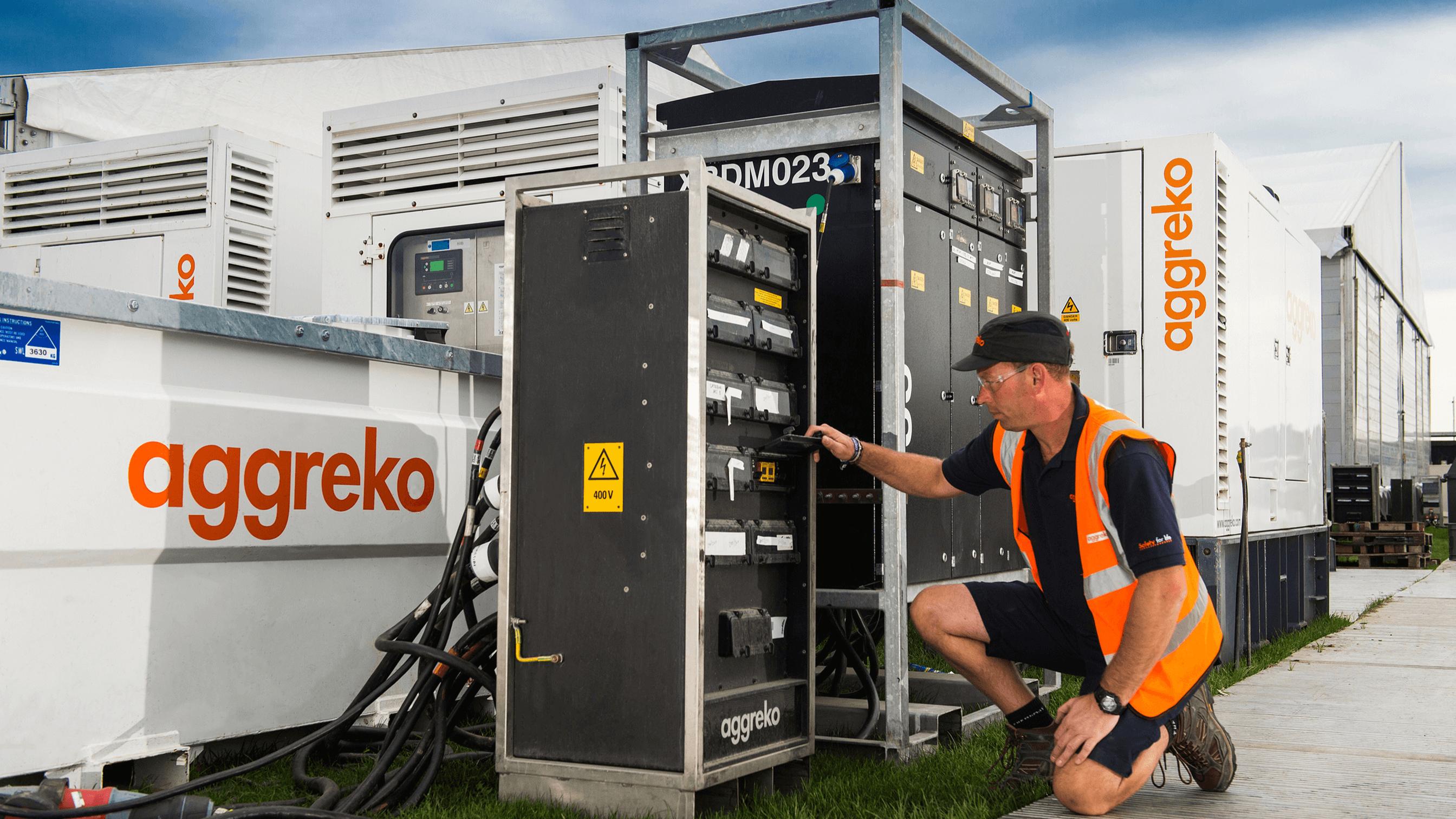 Power Distribution Hire Aggreko