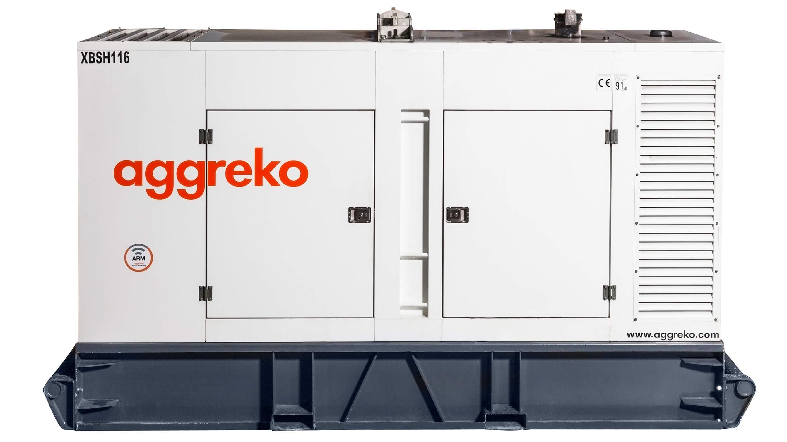 Canopy Generator 350 Kva Aggreko