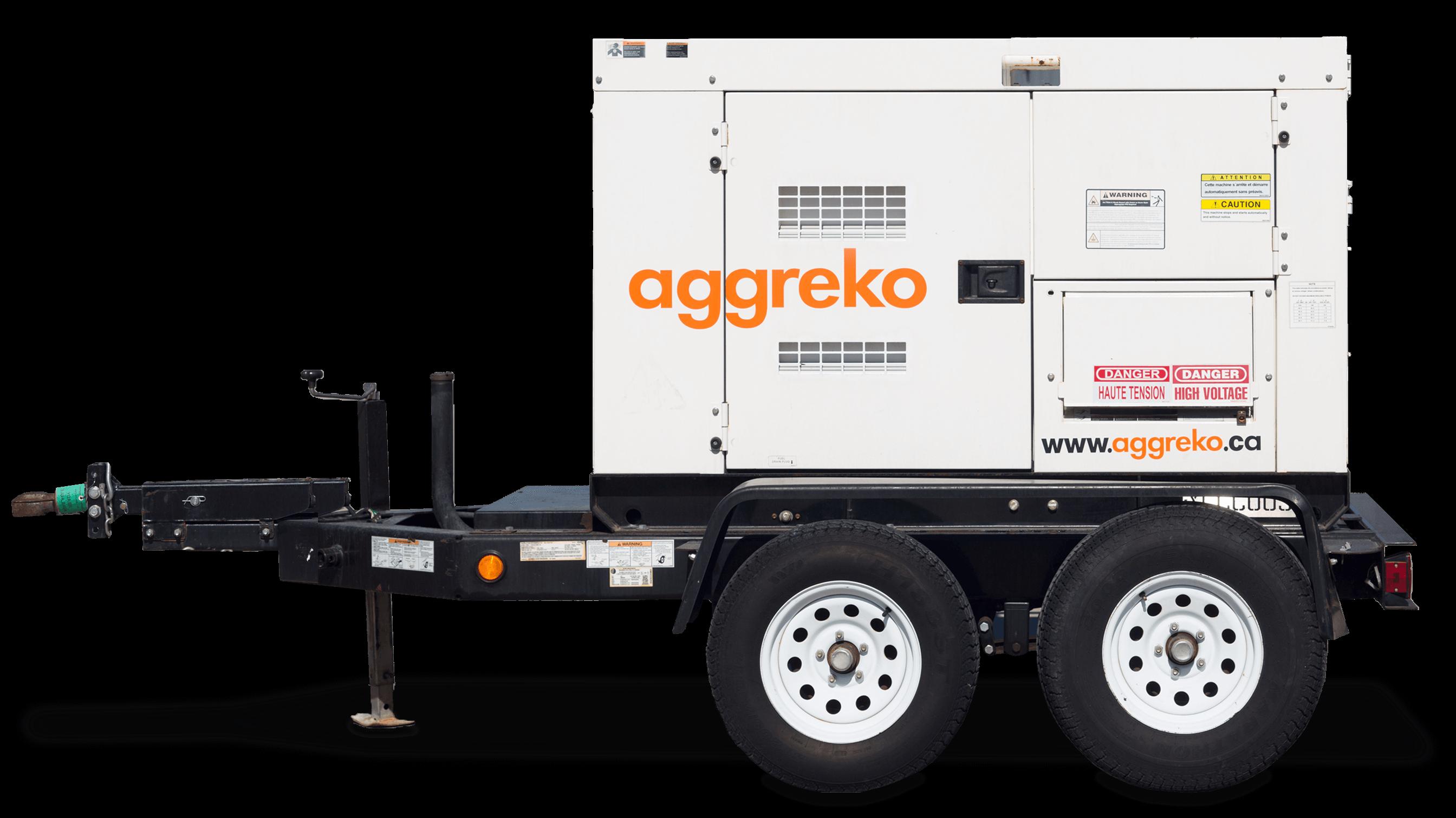 40 kW Diesel Generator Rentals | Portable, Trailer-mounted