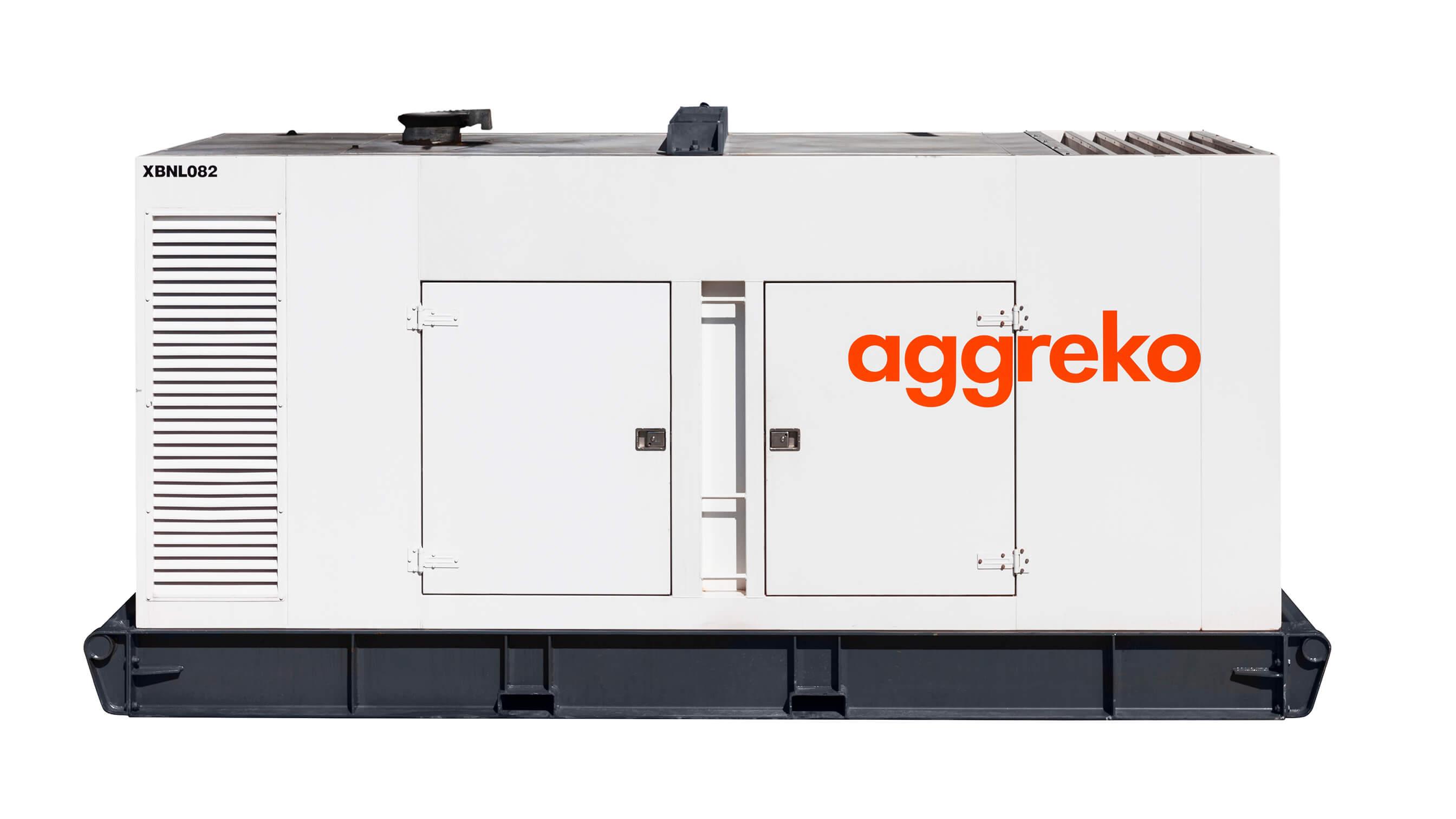 Canopy Diesel Generator 500 Kva Aggreko