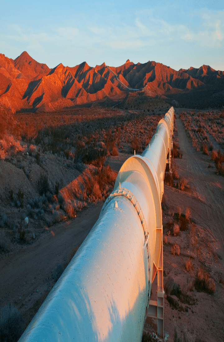Vital pipeline construction