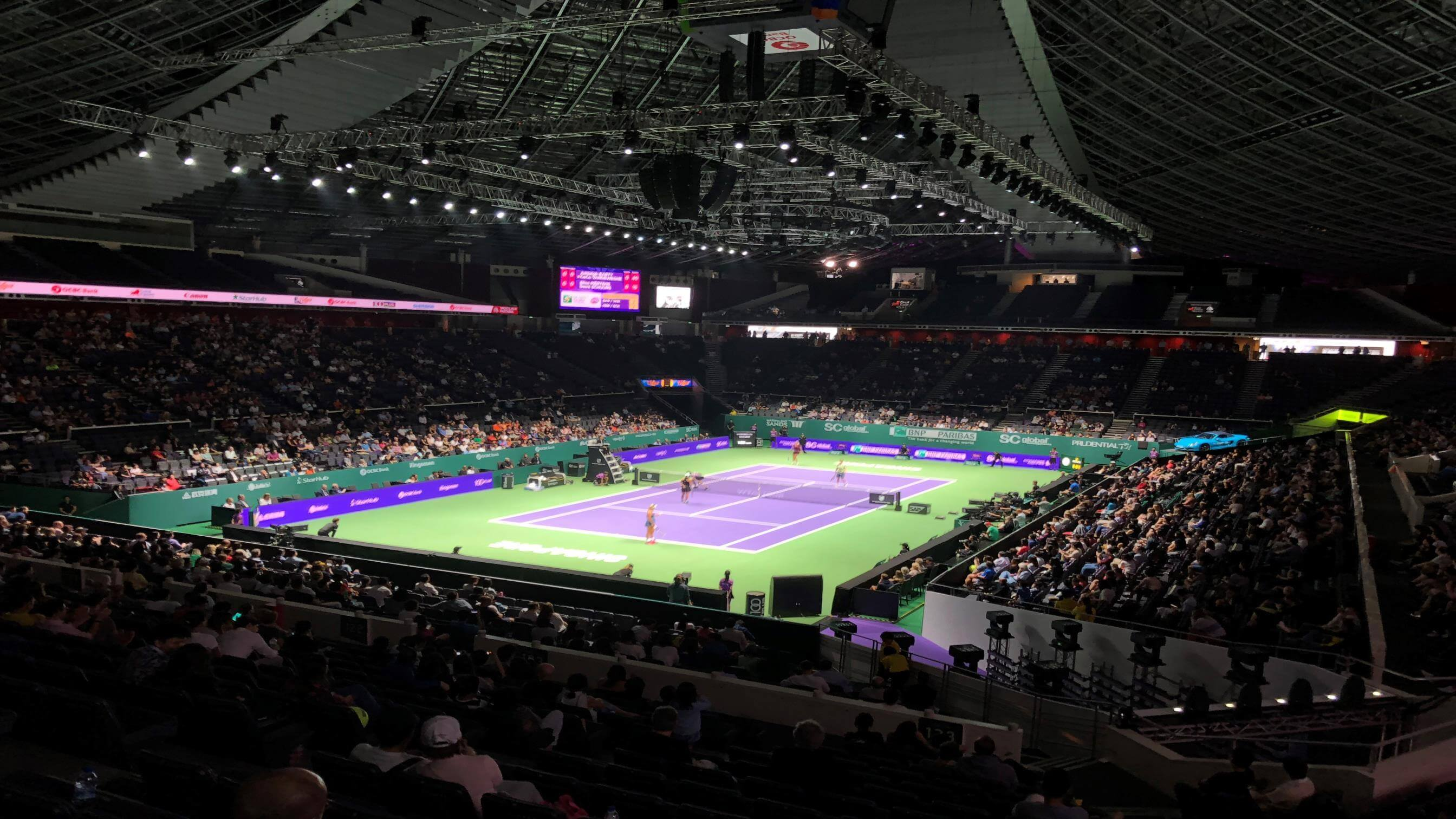 Powering the WTA Finals Singapore