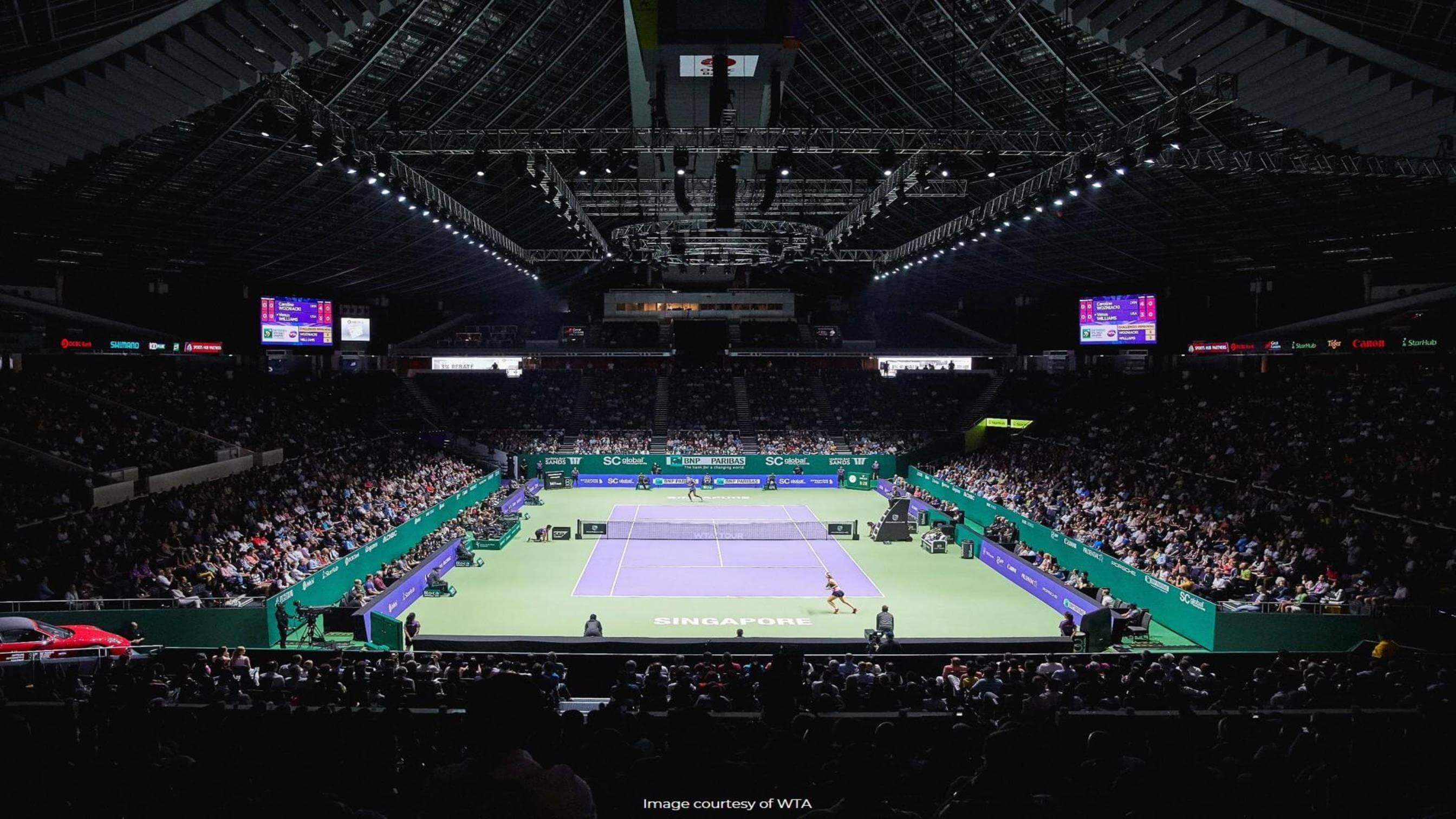 Official Power Supplier of WTA Singapore
