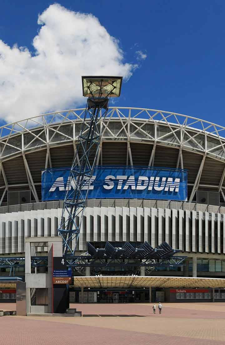 ANZ stadium in Australia