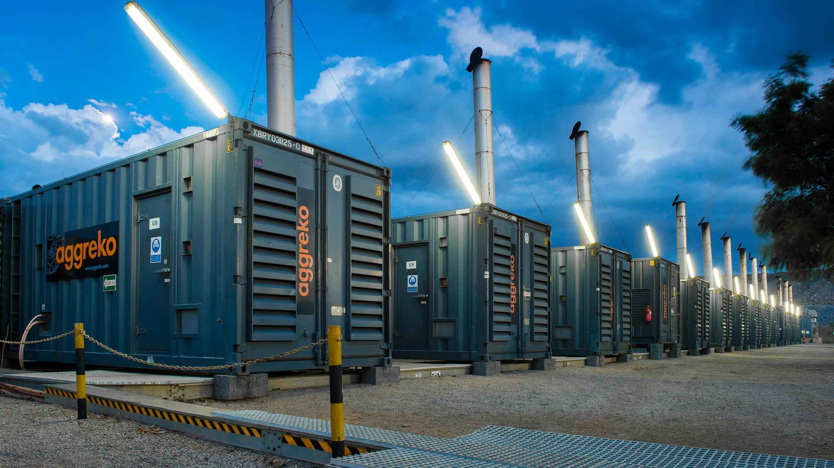 Power Plants Aggreko