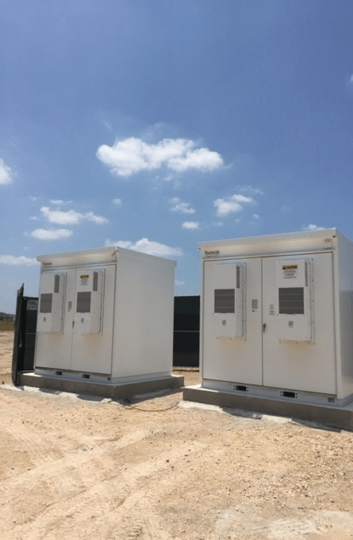 Battery storage on site