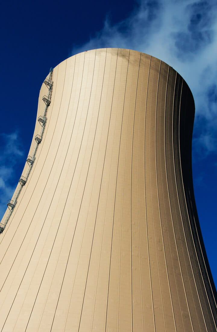cooling towers nuclear power plant