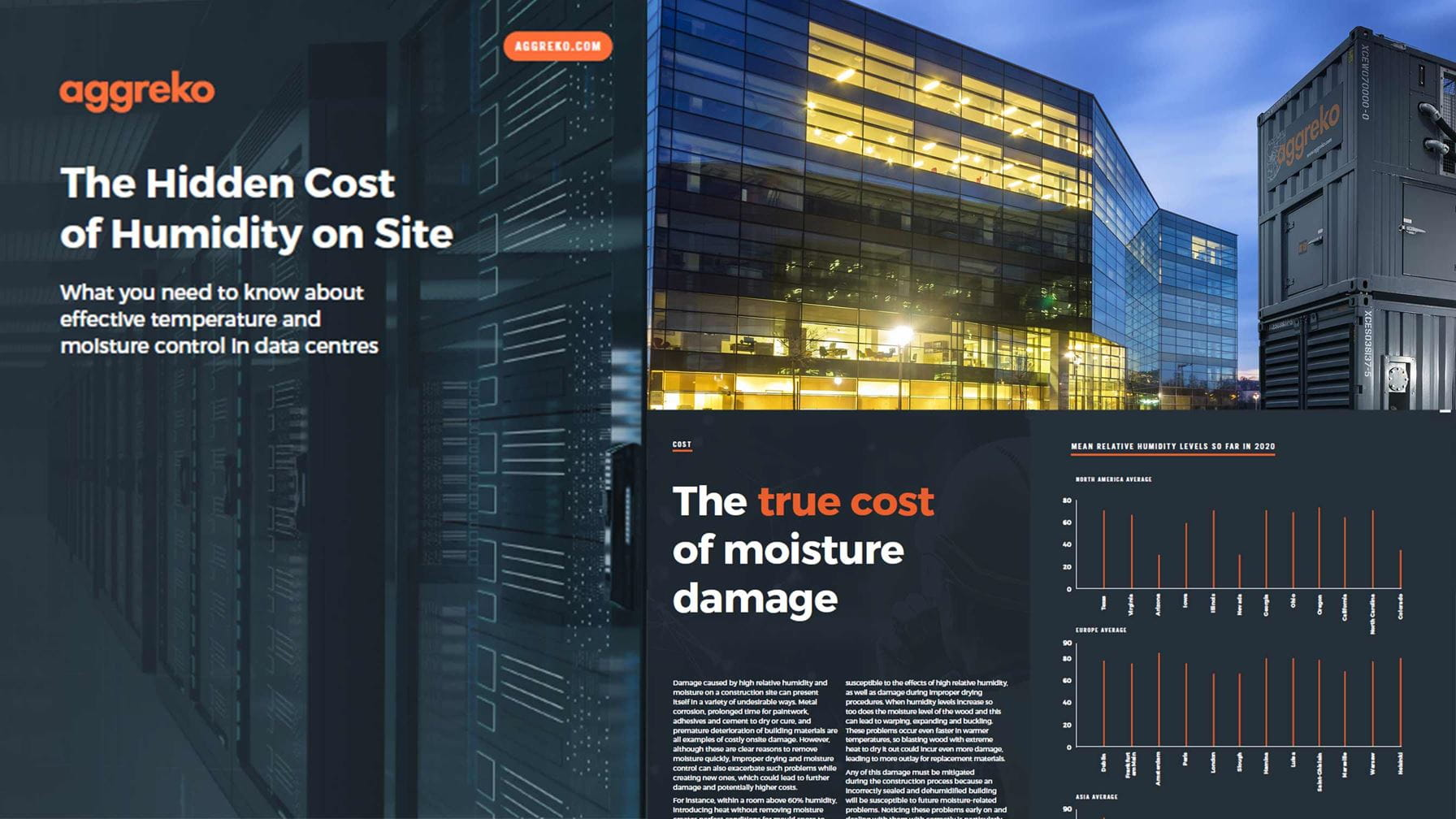 Data Centres - The Hidden Cost of Humidity on Site