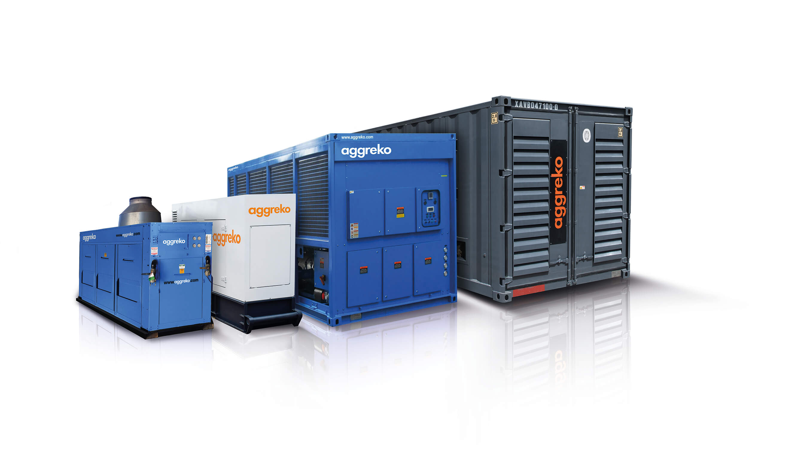 Aggreko products in one image