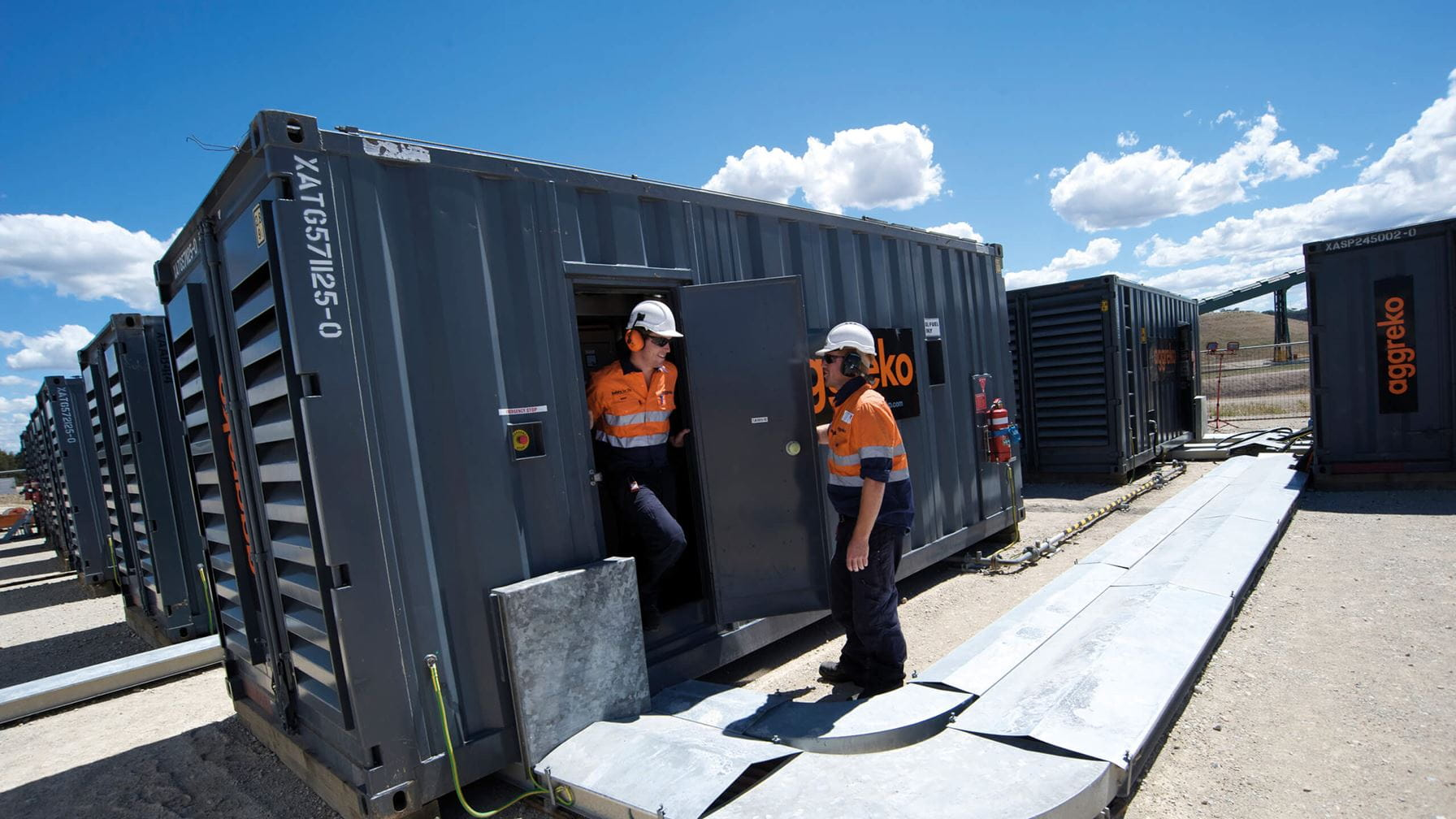 One of world's largest renewable microgrids powers remote gold mine