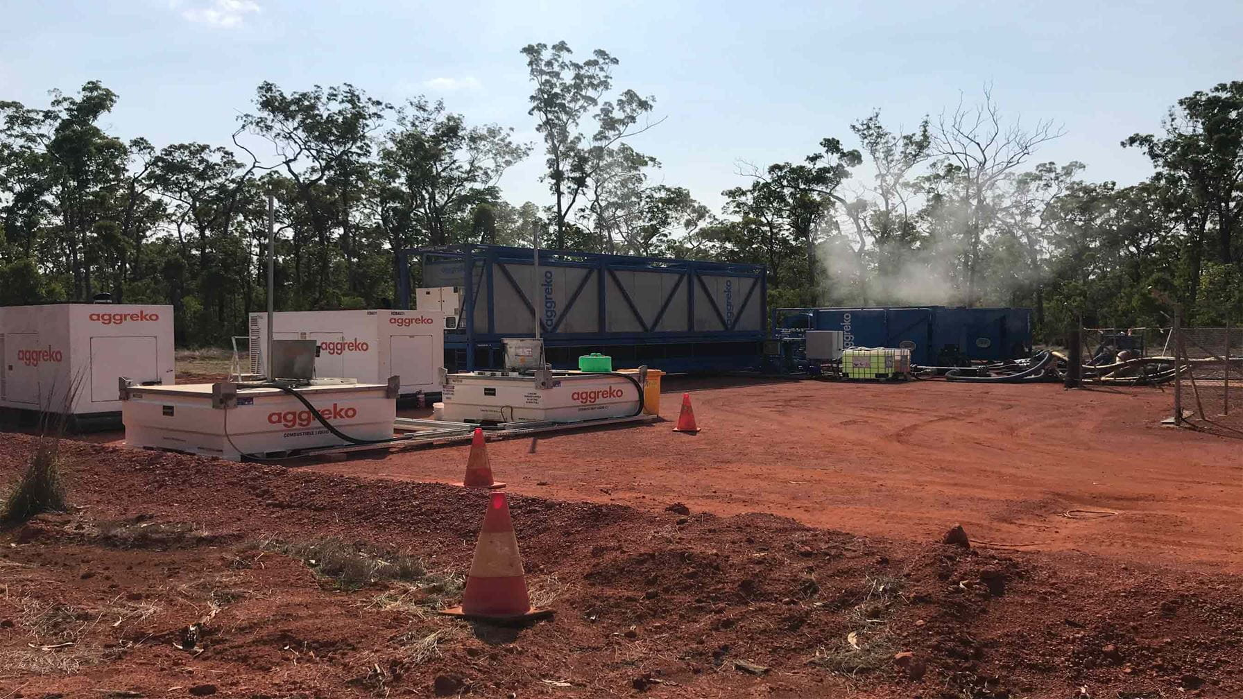 Unprecedented cooling for Bauxite mine helps avoid shutdown