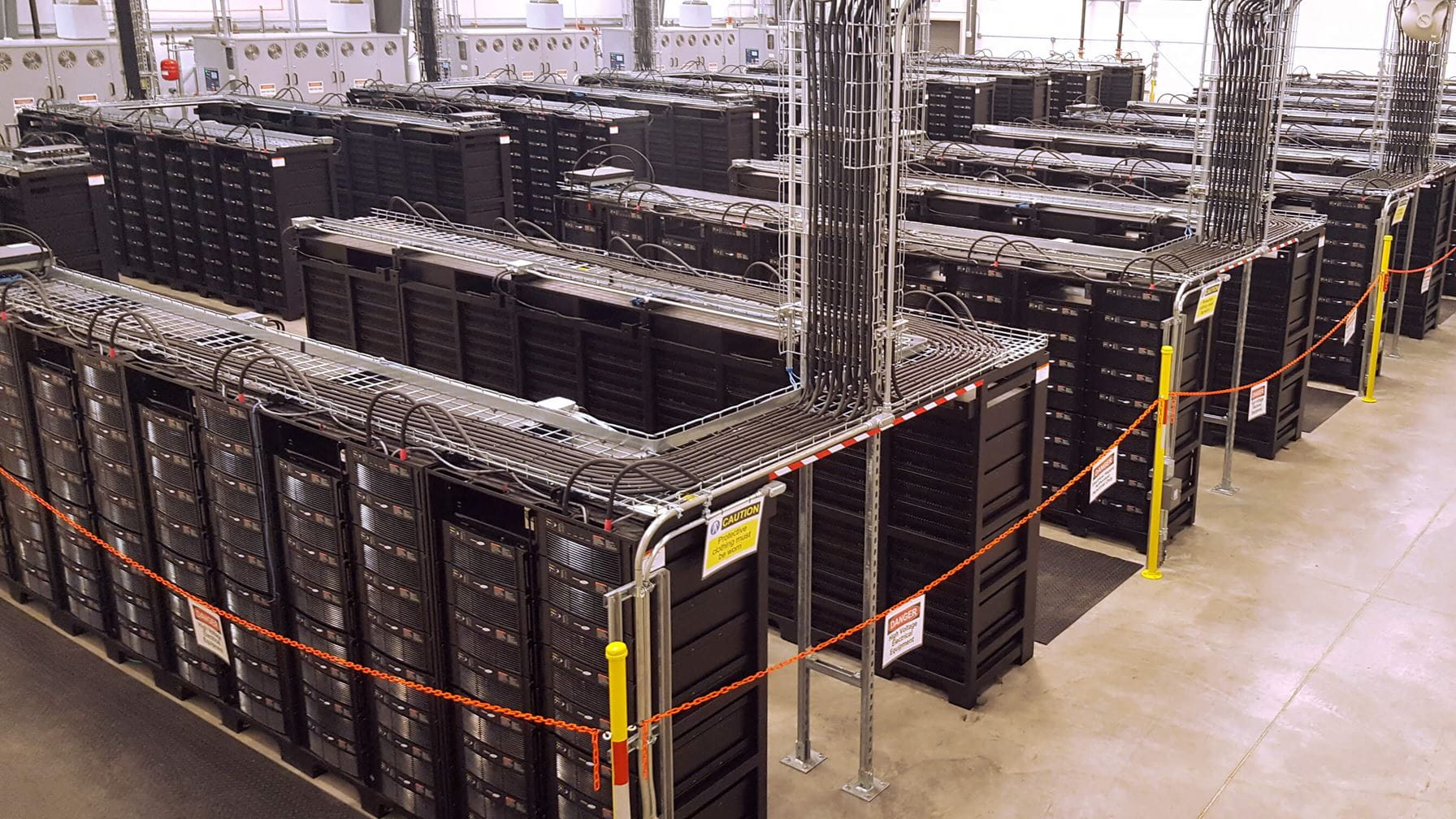 A hybrid storage solution for an electric power company in Texas
